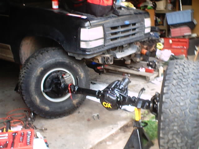 Black Ox Solid Axle Swap 1991 | Ford Explorer and Ford